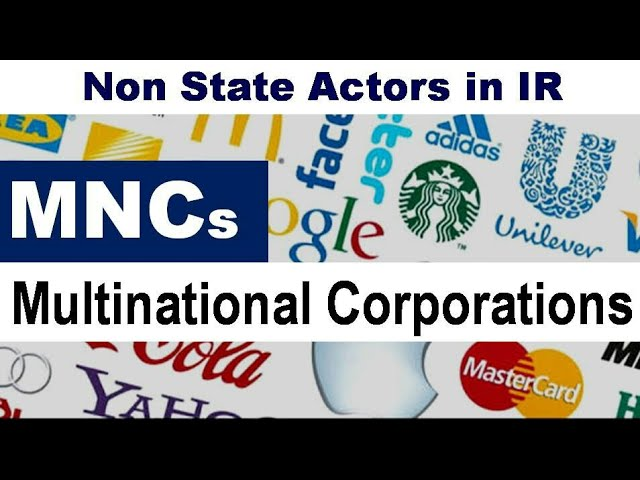 multinational corporations vs mncs 1 multinational corporations: definition of mnc: multinational firms arise because capital is much more mobile than labor since cheap labor and raw material inputs.