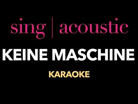 Tim Bendzko - Keine Maschine (Instrumental/ Karaoke)