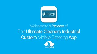 Ultimate Cleaners Industrial - Mobile App Preview - ULT621W