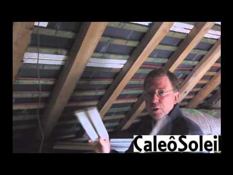 tuile solaire thermique caleosoleil panneau solaire en doovi. Black Bedroom Furniture Sets. Home Design Ideas