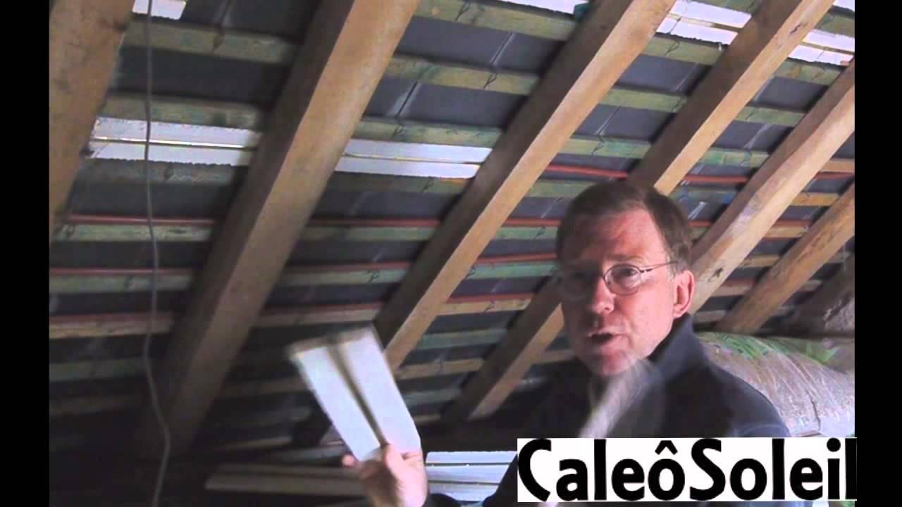 Caleosoleil ardoise solaire thermique chauffage for Chauffer une piscine solaire
