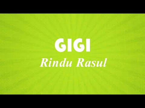 GIGI - Rindu Rasul