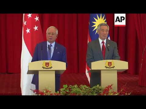 Lee and Razak meet at 8th Singapore-Malaysia leaders' retreat
