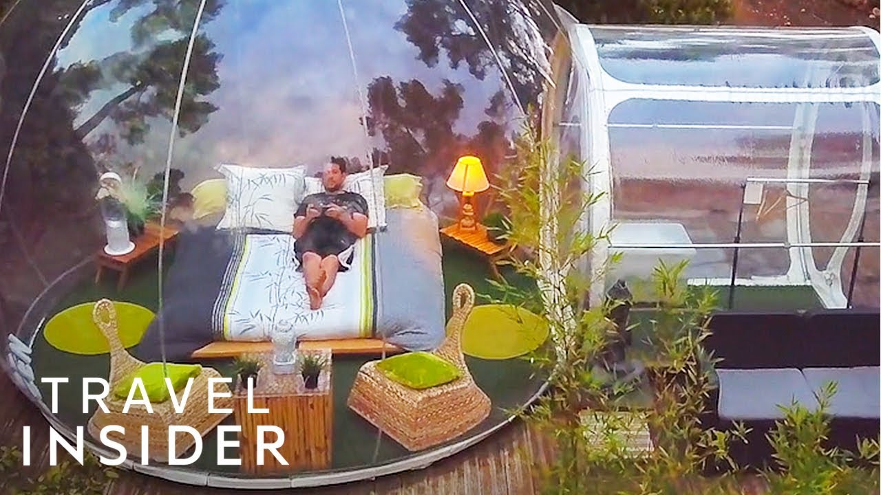 Sleep In A Bubble In The French Countryside