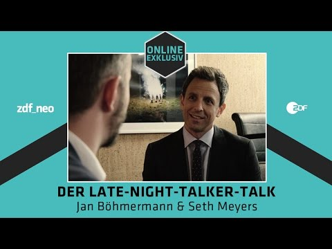 Seth Meyers im Interview mit Jan Böhmermann | NEO MAGAZIN RO