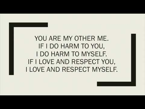 IN LAK'ECH: YOU ARE MY OTHER ME
