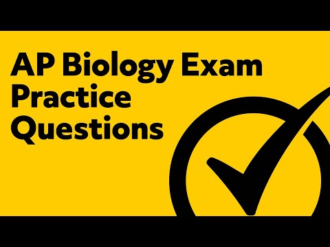 AP Biology Exam Practice Questions