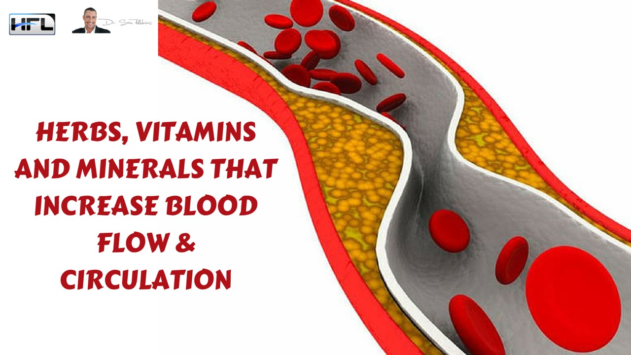 vitamins that increase penile blood flow