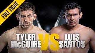 ONE: Full Fight   Tyler McGuire vs. Luis Santos   Statement Debut   July 2018
