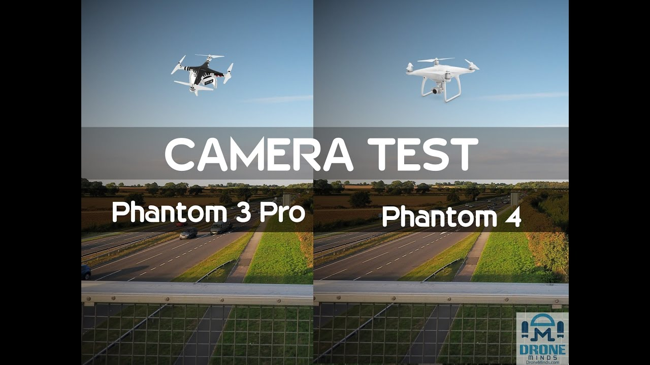 Phantom 4 Pro Drone >> DJI Phantom 3 pro vs Phantom 4 SIDE BY SIDE CAMERA TEST - YouTube