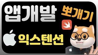 취준생을 위한 아이폰 앱개발 / iOS익스텐ᄉ…