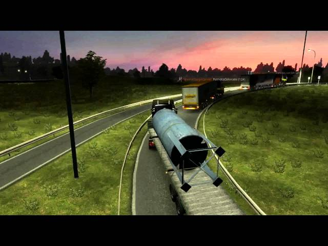GAMEPLAY Euro Truck Simulator 2 Multiplayer com #SCC