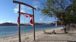 Gili Layar Morgenstimmung Gili Layar Beach Bungalows August 2017