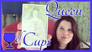 Queen of Cups Tarot Card Meaning Upright & Reversed