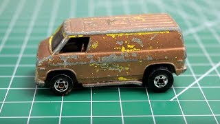 Hot Wheels Customization : 1974 Custom Van thumbnail