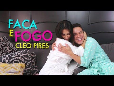 Faca e fogo com Cleo Pires   #HotelMazzafera