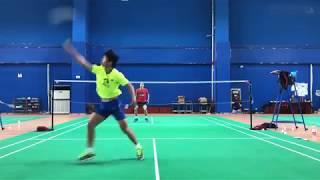 羽毛球高手 - 男子单打 Badminton men's single