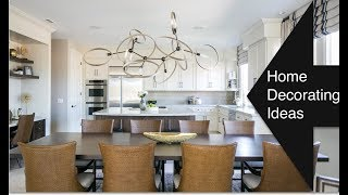 Interior Design | White Kitchen | Family Room REVEAL