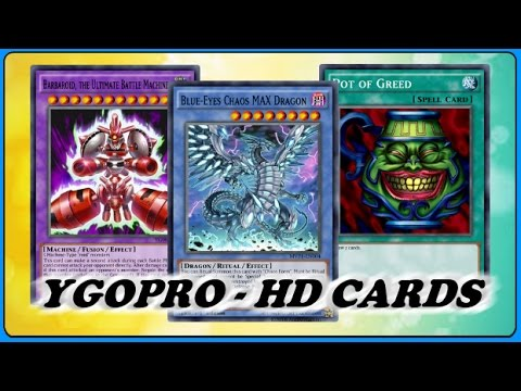 [YGOPro]: How to put HD/HQ Cards on the game?!
