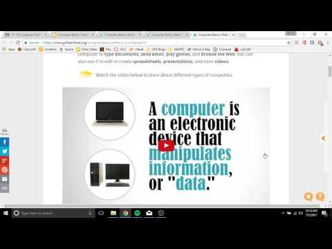 Computer Basics Hardware