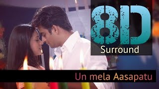 Un Mela Aasapatu 8d || U1 Music luvrs || Maddy || Bhavana ||  🎧strictly recommended use headphones