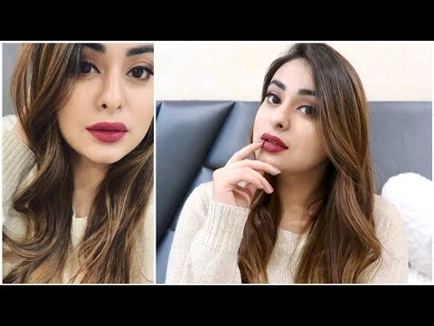 Bombshell on a budget 💋 Fall/Winter glam using affordable makeup | Muskan Chanchlani