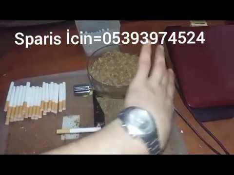 Elektrikli Sigara Sarma Makinası...
