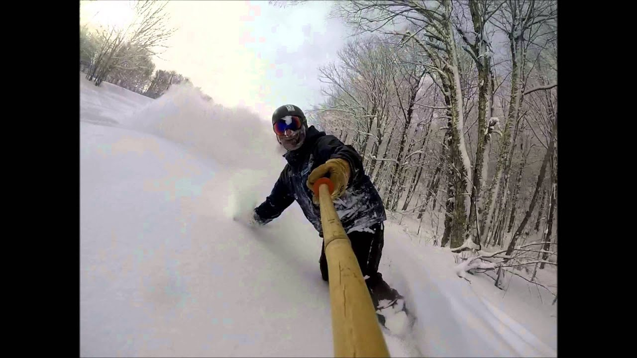 Winter 2016 fly fishing snowboarding in vt youtube for Fishing license vt