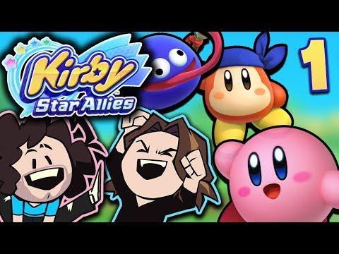 Kirby Star Allies: Makin' New Friends - PART 1 - Game Grumps