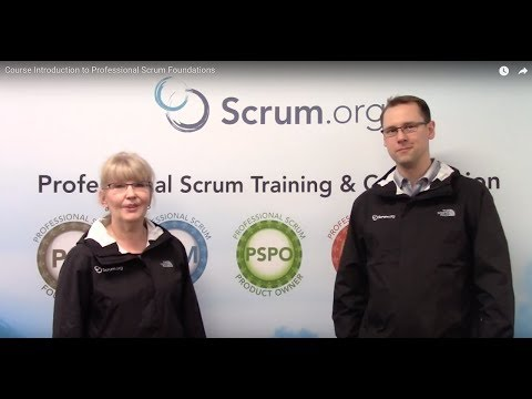 Professional Scrum Foundations™ Training | Scrum org