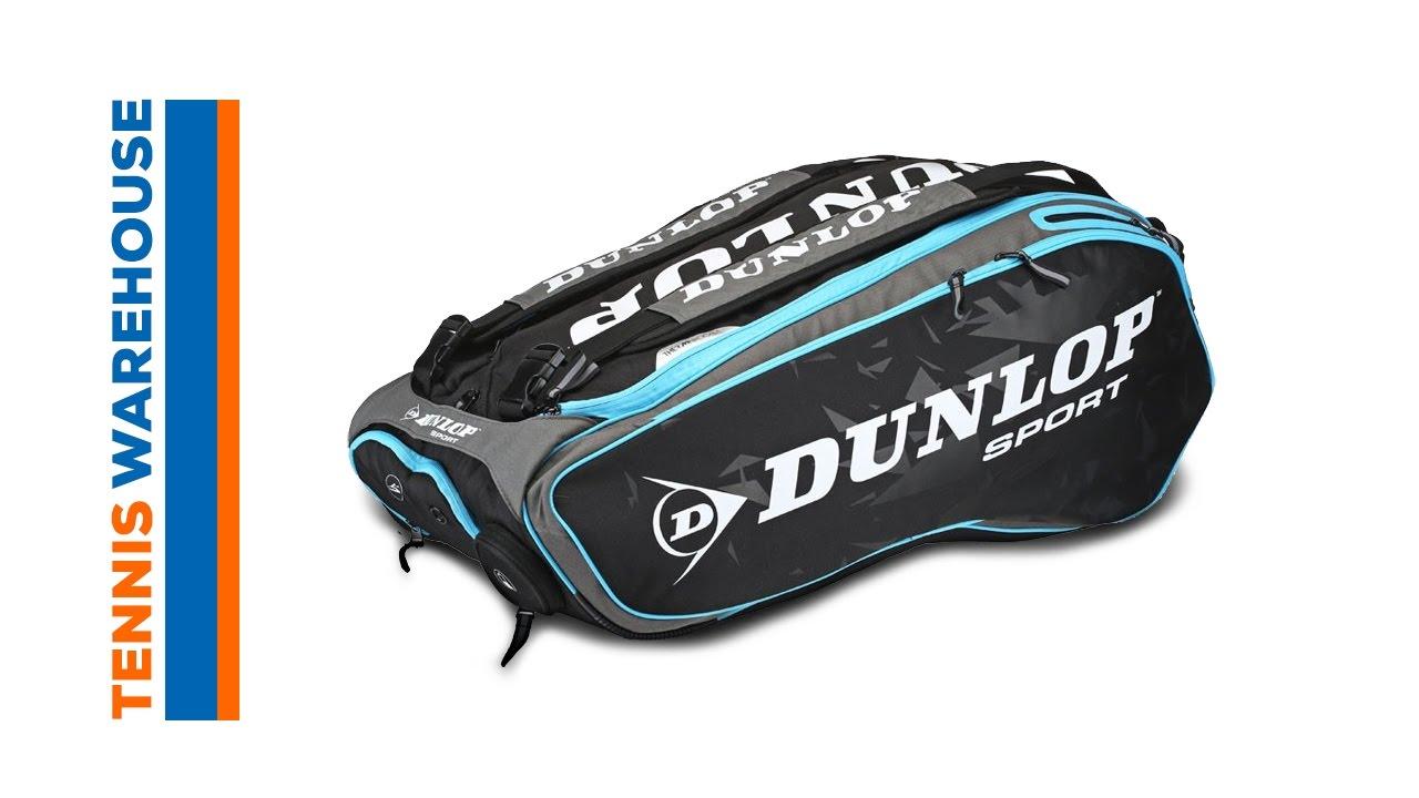 Dunlop Performance Blue 12 Pack Bag. Tennis Warehouse