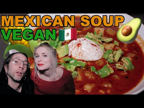 How to make Vegan Mexican Style Soup (Very cheap & easy recipe)