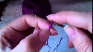 Видеоурок №2. Воздушная петля.  Цепочка воздушных петель