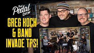 Greg Koch Invades TPS [With Band Jams, Reverend Guitar & Koch Amp] – That Pedal Show