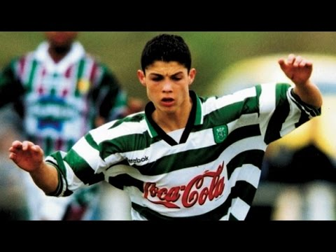 Cristiano Ronaldo in Sporting ● Magic Skills & Goals ● How it all began