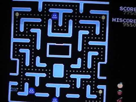 Atari Walkthrough Mspac Man Pretzel Level Youtube