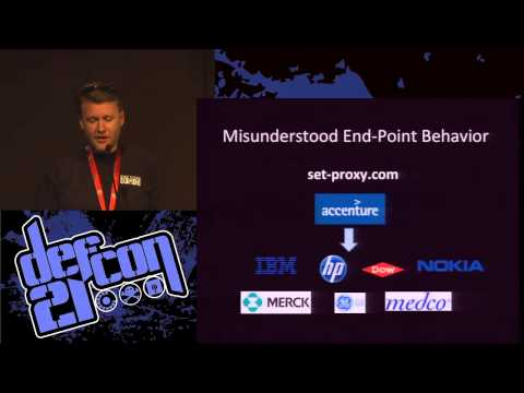 DEF CON 21  - Robert Stucke - DNS May Be Hazardous to Your Health