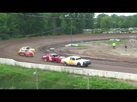 Street Stock Fast Car Dash for Cash at Mt. Pleasant Speedway on 06-15-18.