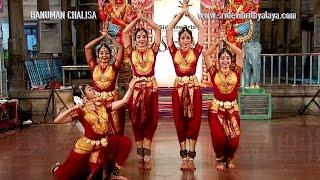Sridevi Nrithyalaya - Bharatanatyam Dance - Full length Hanuman Chalisa Group presentation
