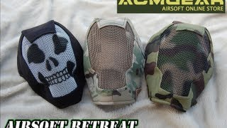 Black Bear Airsoft V3 Rampage Mesh Mask Overview