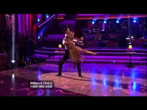 DWTS Cheryl Burke and William Levy - Week 5 w/ Results
