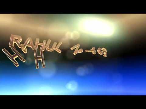 *RAHUL NAAM TOH SUNA HI HOGA* Logo animation