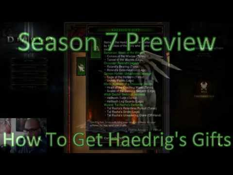Diablo 3] Season 7 Preview - Haedrig's Gift & Seasonal Journey ...