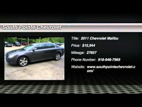 2011 Chevrolet Malibu At South Pointe Chevrolet In Tulsa BF160093