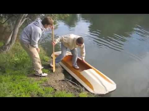 The Homemade Folding Kayak Youtube