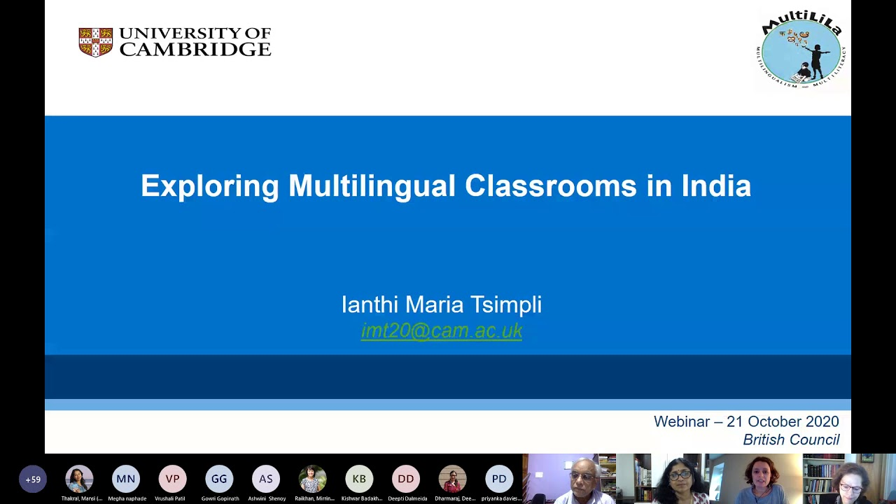 Exploring multilingual classrooms in India