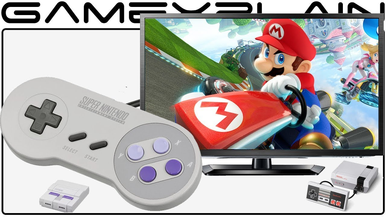 Testing the SNES Classic Controller with the NES Classic, Mario Kart 8, &  Wii U Virtual Console