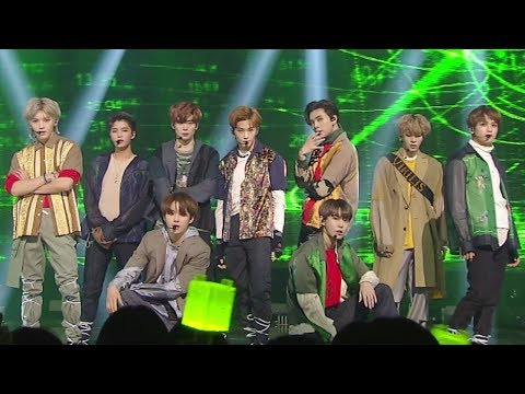 NCT 127 - Simon Says @ Popular Inkigayo 20181216