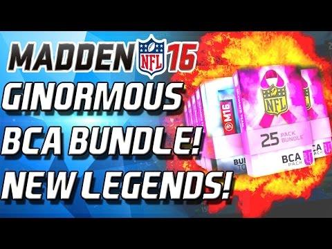 MEGA BCA BUNDLE! AHMAN GREEN! - Madden 16 Ultimate Team