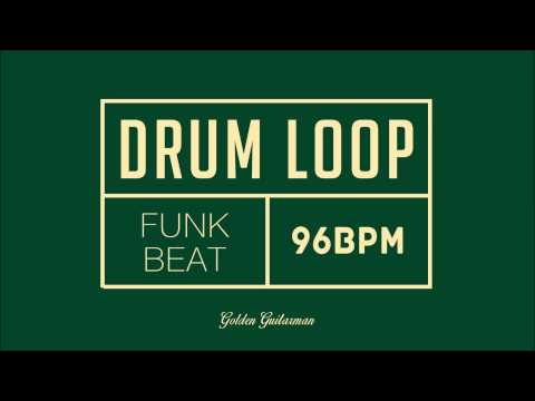 Funk Drum Loop 96 BPM